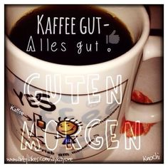 ☕️ #Kaffee gut  alles #gut !!! #kaffee #morgens #lecker ... Mein #Antrieb ✌️