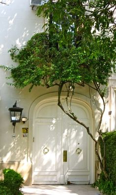 Beautiful arched entrance!