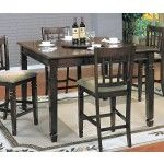 $485.36  Yuan Tai Furniture - Mirage Pub Table with Lazy Susan - MR6130T