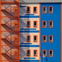 Yener Torun captures Istanbul& architecture as kaleidoscopic color images Detail Architecture, Minimalist Architecture, Interior Architecture, Building Architecture, Orange Architecture, Istanbul, Minimal Photography, White Photography, Photography Tips
