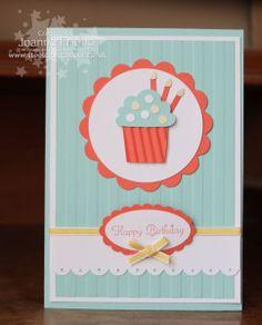 SU card by Joanne Friend - Simple Birthday Card