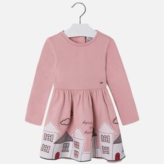 Buy MAYORAL APPLIQUE DRESS 4957 58 from Puddleducks - an independent store in Lancashire selling designer childrenswear from birth to 14 years.
