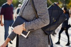 The Best Handbags of Paris Fashion Week Street Style - Page 7 of 16