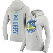 #NBAStore.com - #NBAStore.com Women's Golden State Warriors Stephen Curry Fanatics Branded Gray Backer Name & Number Pullover Hoodie - AdoreWe.com