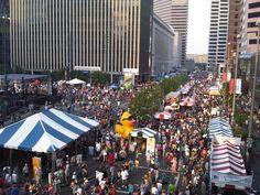The Taste of Cincinnati is the nation's longest running culinary arts festival. It's held every Memorial Day Weekend in downtown Cincinnati.