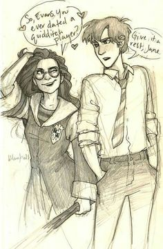 Gender swap Lily and James
