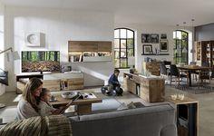 Hartmann Massivholzmöbel Modellreihe BENT - Galerie Wohnkombinationen