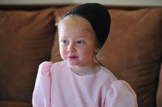 cute little Amish girl