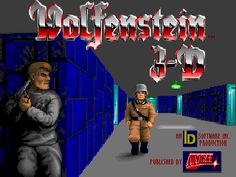 Wolfenstein is action game, published in 1992 by ID Software / Apogee. We gave this game stunning rating of Wolfenstein 3d, Classic Video Games, Retro Video Games, Starcraft, Nostalgia, Ibm Pc, 3 D, Id Software, Movies