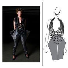 Concrete Jungle- Art to Wear 2011 - Katelyn Sexton's Portfolio