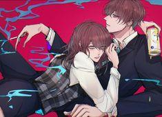 Manhwa, Saeran, Rap Battle, I Love Anime, Photo Reference, Matching Icons, Cool Art, Anime Art, Romantic