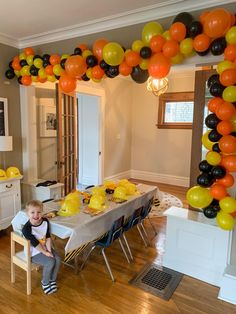 Leo's Construction Site Themed Birthday Party - The House of Navy Digger Birthday Parties, 3rd Birthday Party For Boy, Birthday Themes For Boys, Digger Birthday Cake, Digger Party, Birthday Banners, Farm Birthday, Birthday Invitations, Birthday Ideas