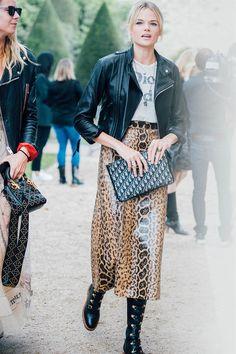 Gli outfit più belli e i look originali visti alla Paris Fashion Week Primavera Estate 2018
