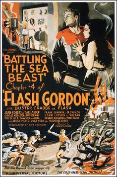 The Geeky Nerfherder: Movie Poster Art: Flash Gordon