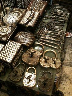 I love old locks.