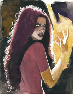 Dark Phoenix by Jeff Dekal