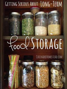 Long Term food storage [ shop.coldfiresoutheast.com ] #preparedness #disaster #safety