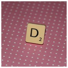Scrabble Ring on Etsy, £4.00