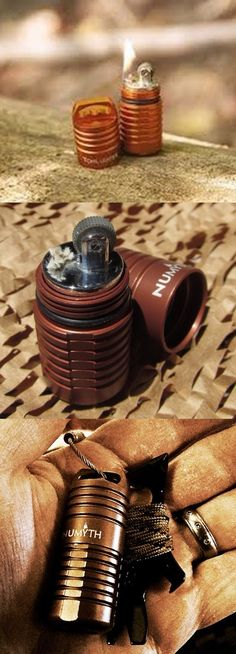 Numyth Tohil v2 Watertight EDC Gear Fluid Lighter (Ember Orange)