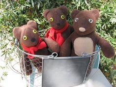 Brown Bear stuffed toy Teddy bear stuffed bear by CATsThisAndThat