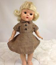 """Vintage 1961 Uneeda 8"""" Doll Girl Scout BROWNIE Dress!"""