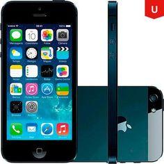 Usado - Iphone 5 32gb Preto - Americanas.com