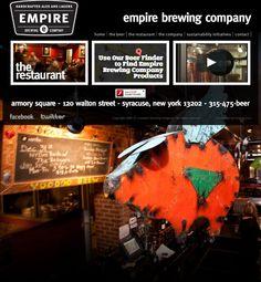 Empire Brewing Company in Syracuse, NY