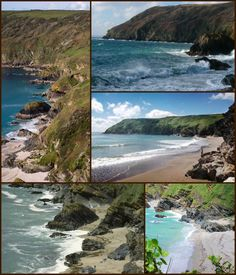 More images of Lantic Bay Cornwall.