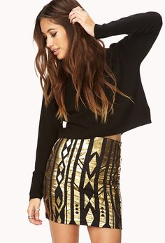 Luxe Traveler Bodycon Skirt | FOREVER21 - 2000090735