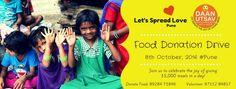 Let's spread love a daan utsav
