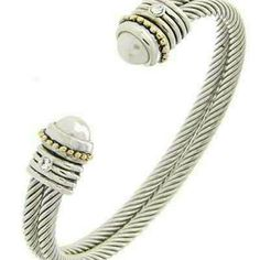 Bracelet Cuff Silver Jewelry Bracelets