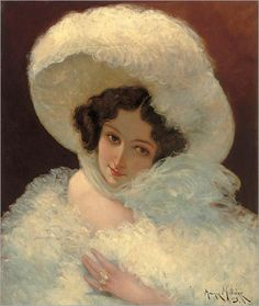 Ready for the Ball - Maurice Milliere