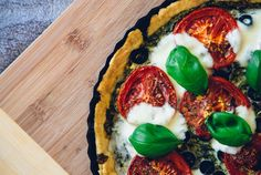Tart by michalkulesza on Creative Market #pizza #tart #food