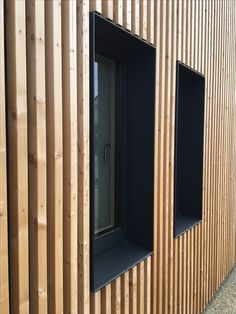 House Cladding, Timber Cladding, Exterior Cladding, Timber Architecture, Residential Architecture, Architecture Details, Wood Facade, House Extensions, Architectural Elements
