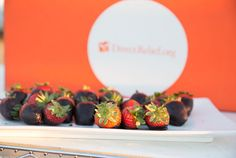 #Chocolatedippedstrawberries as part of a dessert station. What's not to love. Photo Credit:  Isaac Hernandez