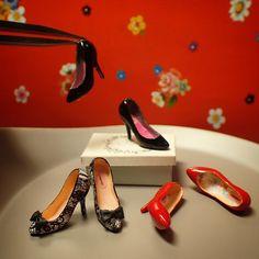miniature shoes 1/12 scale