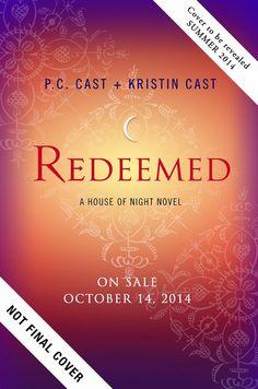 Livro 12 Redimida da Série House of Night - P.C. Cast e Kristin Cast (lançamento Brasil em out/2014)