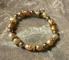 Check out this item in my Etsy shop https://www.etsy.com/listing/229496517/cultered-fresh-water-pearl-bracelet-with