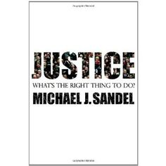 Justice by Michael Sandel.. Reading it currently!