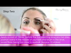 Cherry Blooms Mascara Brush On Fiber Eyelash Extensions In 60 Seconds - Cherry Blooms
