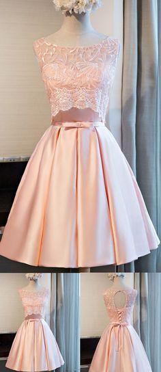 Short Prom Dresses, Lace Prom Dresses, Pink Prom Dresses, Prom Dresses Short, Short Pink Prom Dresses, Prom Dresses Lace, Short Homecoming Dresses, Knee Length Prom Dresses, Lace Homecoming Dresses, Knee Length Dresses, Pink Lace dresses, Lace Up Prom Dresses, Bandage Party Dresses, Knee-length Prom Dresses, Sleeveless Homecoming Dresses