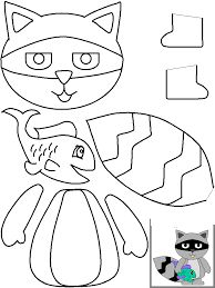 Crafts,Actvities and Worksheets for Preschool,Toddler and Kindergarten.Lots of worksheets and coloring pages. Duck Crafts, Animal Crafts, Felt Crafts, Animal Coloring Pages, Coloring Books, Paper Crafts For Kids, Arts And Crafts, Raccoon Craft, Autism Crafts