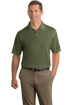 e36f0a470 Men Golf Clothing - NIKE Mens DriFIT Pebble Texture Polo 373749 Urban Haze  XL Nike Company