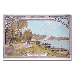 """Trademark Art """"Chemins de Fer d'Orleans 1910"""" by Luigi Loir Painting Print on Wrapped Canvas Size: 16"""" H x 24"""" W x 2"""" D"""