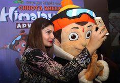 Raveena Tandon Enjoys Chhota Bheem Himalayan Adventure With Family