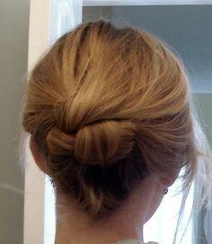 cool braid/bun