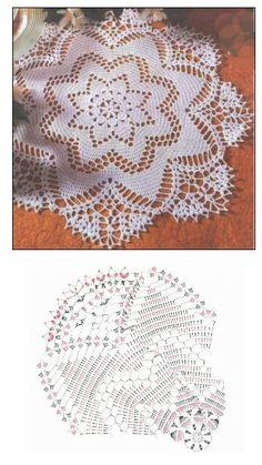 Pretty lacy doily