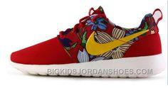 Nike Roshe One Breather Women's Running Shoes Red - Nike Shox Nz, Nike Air Jordan Retro, Nike Run Roshe, Jordan Shoes For Kids, Nike Free Run, Roshe Shoes, Retro Shoes, Classic Sneakers, Kids Jordans