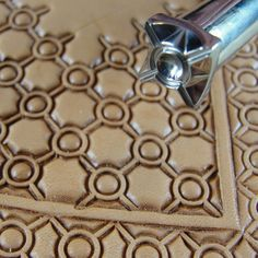 Stainless Steel Barry King - #3 Crosshair Circle Geometric Stamp (Leather Stamping Tool)