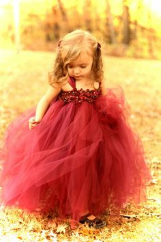 # flowergirl..yes, this would be adorable on my grand daughter for a Flower Girl dress..but...I think she needs it just to be pretty in or for dress up time...she love tutus and to dress pretty..and shes only ONE on Thanksgiving!!